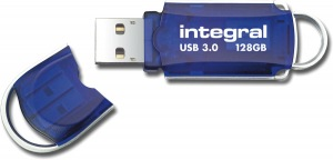 Integral Courier USB 3.0 Flash Laufwerk 128GB Laufwerk