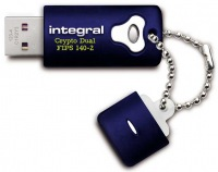 Integral Crypto Dual FIPS 140-2 Verschlüsselt USB Laufwerk 16GB