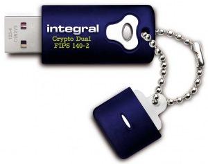 Integral Crypto Dual FIPS 140-2 Verschlüsselt USB Laufwerk 8GB