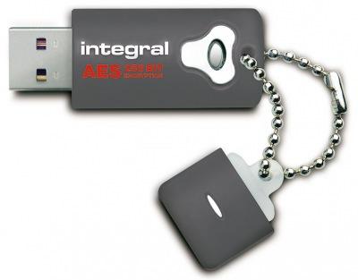 Integral Crypto Laufwerk Verschlüsselt USB - (FIPS 197) 8GB Laufwerk