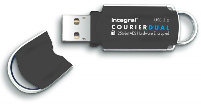 Integral Courier Dual FIPS 197 Verschlüsselt USB 3.0 Laufwerk 8GB