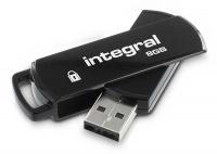 Integral Sicher 360 Pen Laufwerk 8GB Laufwerk