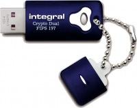 Integral Crypro Dual Laufwerk Verschlüsselt USB - (FIPS 197) 32GB Laufwerk
