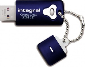 Integral Crypro Dual Laufwerk Verschlüsselt USB - (FIPS 197) 8GB Laufwerk