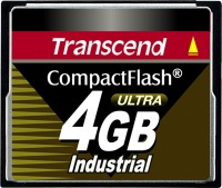 Transcend Industrial Ultra Compact Flash 4GB Karte (100x)