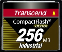 Transcend Industrial Ultra Compact Flash 256MB Karte (100x)