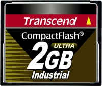 Transcend Industrial Ultra Compact Flash 2GB Karte (100x)