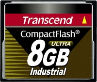 Transcend Industrial Ultra Compact Flash 8GB Karte (100x)