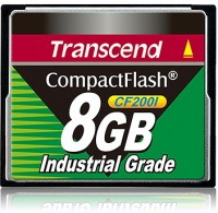 Transcend Industrial Ultra Compact Flash 8GB Karte (200x)