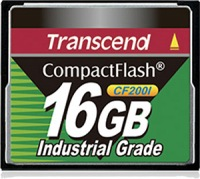 Transcend Industrial Ultra Compact Flash 16GB Karte (200x)