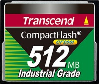Transcend Industrial Ultra Compact Flash (200x) 512MB Karte (200x)