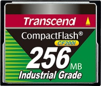 Transcend Industrial Ultra Compact Flash 256MB Karte (200x)