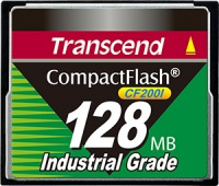 Transcend Industrial Ultra Compact Flash 128MB Karte (200x)