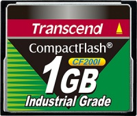 Transcend Industrial Ultra Compact Flash 1GB Karte (200x)