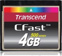 Transcend CFast  4GB Karte