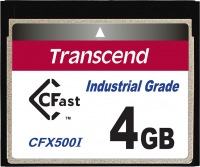 Transcend Industrial Temp CFast 4GB Karte
