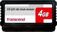 Transcend PATA Flash Modul (44Pin Vertikal) 4GB