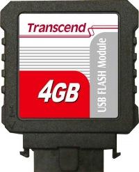 Transcend IDE Industrial USB Vertikal 4GB Modul