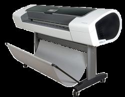 HP-Compaq DesignJet 2500CP drucker